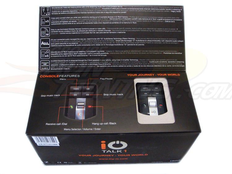 adnauto io talk 1 kit mains libres bluetooth multimedia 84206. Black Bedroom Furniture Sets. Home Design Ideas