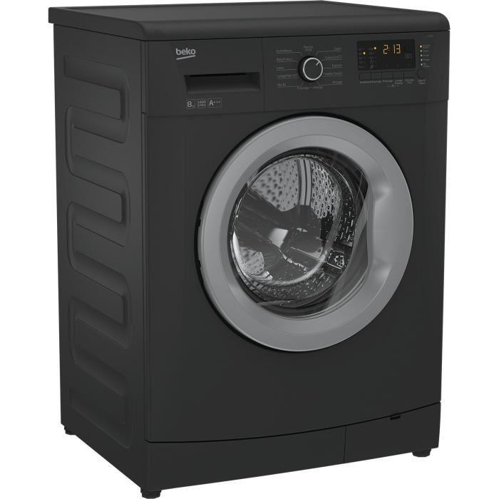 beko beko llf08a1 lave linge 8kg a 356738. Black Bedroom Furniture Sets. Home Design Ideas