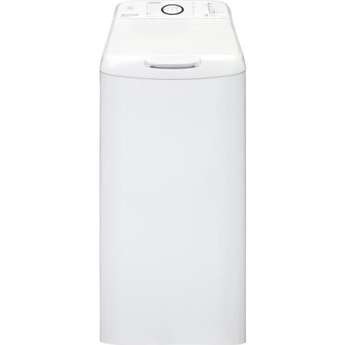 Brandt bt558be lave linge top vitesse essorage - Lave linge top brandt ...