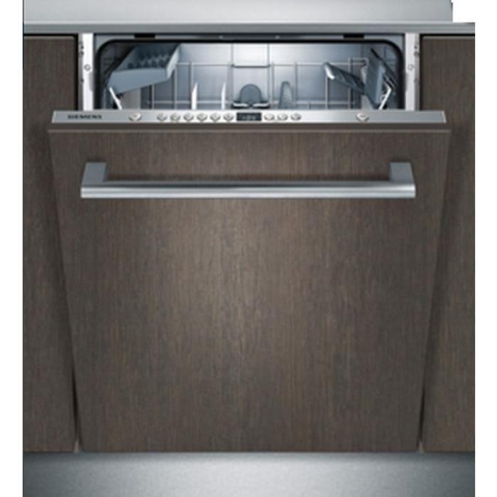 siemens sn636x00ae lave vaisselle tout int grable 12 couverts 48 db a l60 cm moteur induction. Black Bedroom Furniture Sets. Home Design Ideas