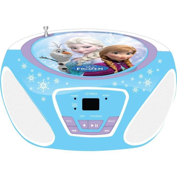 techtraining la reine des neiges cd boombox frozen 246247. Black Bedroom Furniture Sets. Home Design Ideas