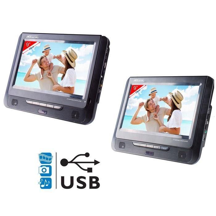 takara takara vrt179 lecteur dvd portable 2 crans 9 usb 246253. Black Bedroom Furniture Sets. Home Design Ideas