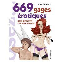Librairie érotique LRDP - 669 gages pour pimenter vos jeux erotiques