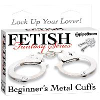 Liens et Menottes LRDP - Menottes Beginners Metal Cuffs Fetish Fantasy - Pipedream