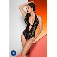 Lingerie sexy Avanua - Body Rayen noir - L-XL