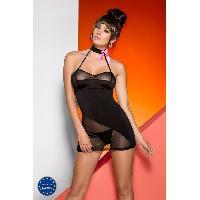 Lingerie sexy Avanua - Nuisette et String Nora - L-XL