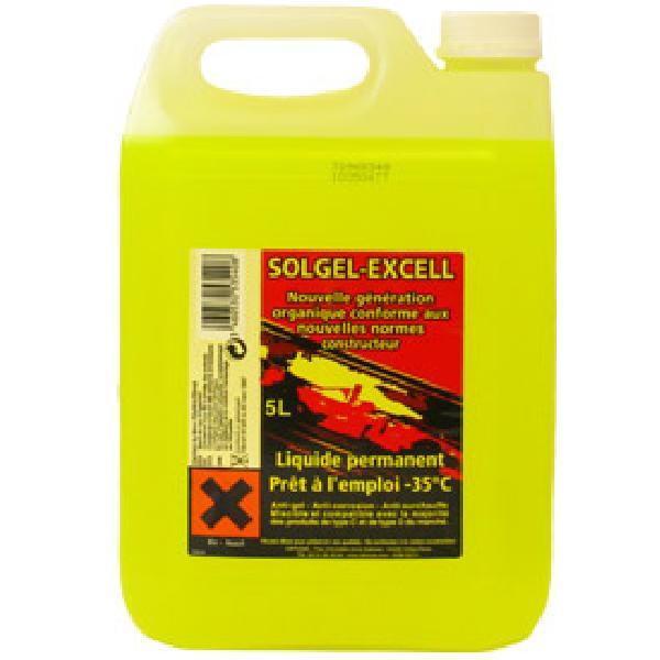 Liquide refroidissement universel -35 degres - 5L - Solgel