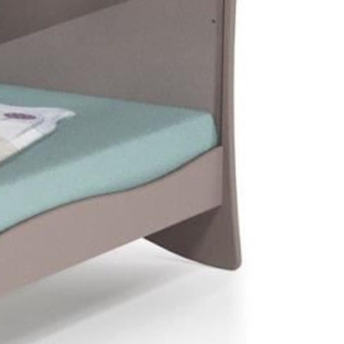 at4 at4 lit 60 x 120 cm plexiglas lune et etoile. Black Bedroom Furniture Sets. Home Design Ideas