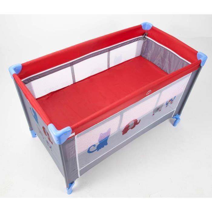 tigex tigex lit parapluie 3 en 1 love circus 350693. Black Bedroom Furniture Sets. Home Design Ideas
