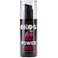 Lubrifiants Eros - Lubrifiant Power Fruit Cerise - 125 ml