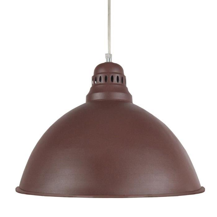 Aucune bacino suspension 44 cm marron 285312 for Lustre ou suspension