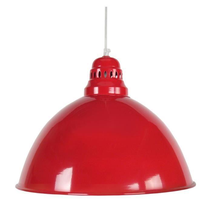 Aucune bacino suspension 44 cm rouge 265490 for Rossi lampadari