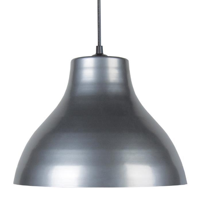 aucune toselia suspension 295 cm metal aluminium argent 265493. Black Bedroom Furniture Sets. Home Design Ideas