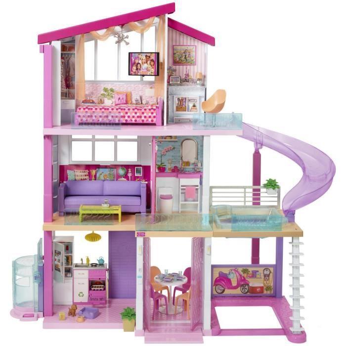 Mattel enchantimals la maison de danessa biche 660851 - Maison de reve de barbie ...