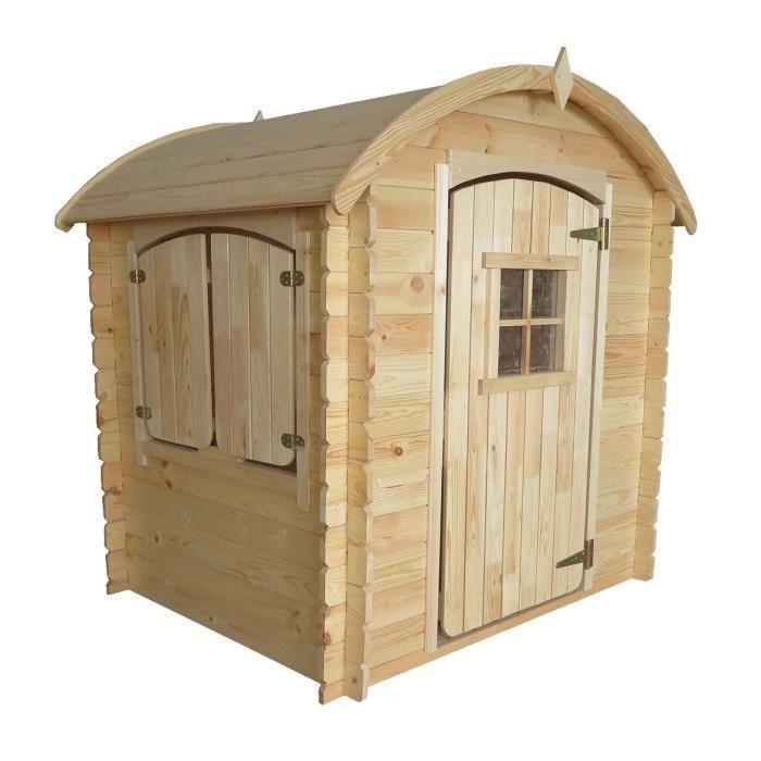 maison de jeux exterieure maisonnette mid. Black Bedroom Furniture Sets. Home Design Ideas
