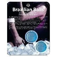 Massage Brazilian Balls - Boules Bresiliennes Effet Glace X2