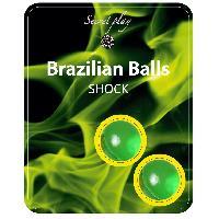 Massage Brazilian Balls - Boules Bresiliennes Shock Nature X2