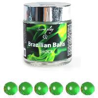 Massage Brazilian Balls - Boules Bresiliennes Shock Nature X6