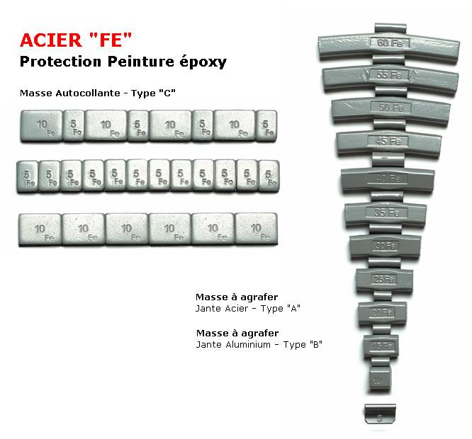 kosei b masses equilibrage a agrafer jante alu 5g 33240. Black Bedroom Furniture Sets. Home Design Ideas