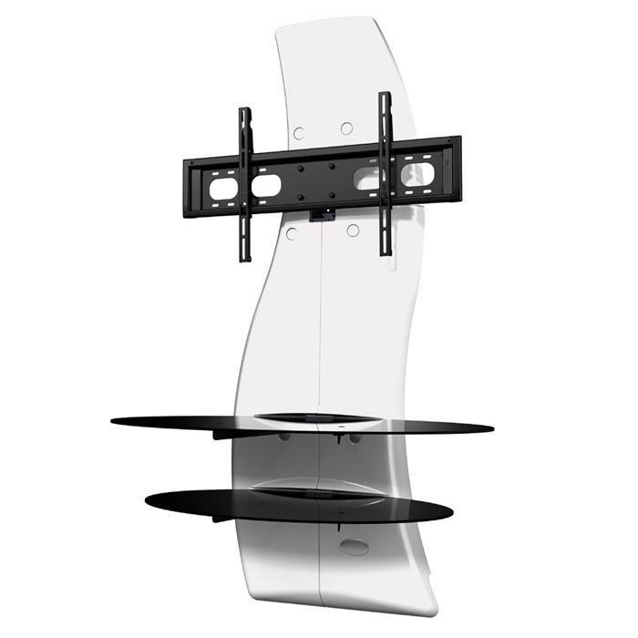 Meliconi ghost design 2000 meuble tv support 32 a 63 - Meuble tv support integre ...