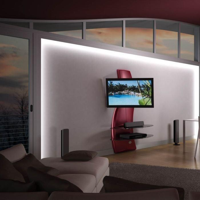 Meliconi ghost design 2000 rotation meuble tv support for Meuble tv meliconi