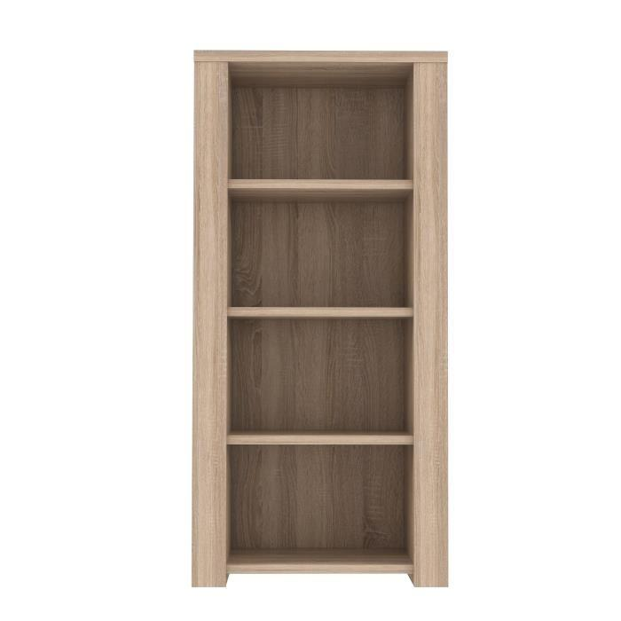 aucune calpe etagere 91 x 187 cm chene sonoma clair 286389. Black Bedroom Furniture Sets. Home Design Ideas