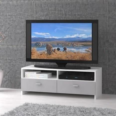 Finlandek salon finlandek meuble tv helppo 95cm blanc for Meuble salon gris