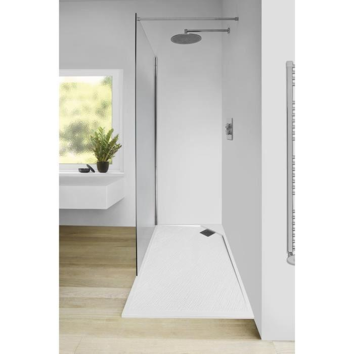 mitola mitola receveur en r sine composite oasis 120x80. Black Bedroom Furniture Sets. Home Design Ideas