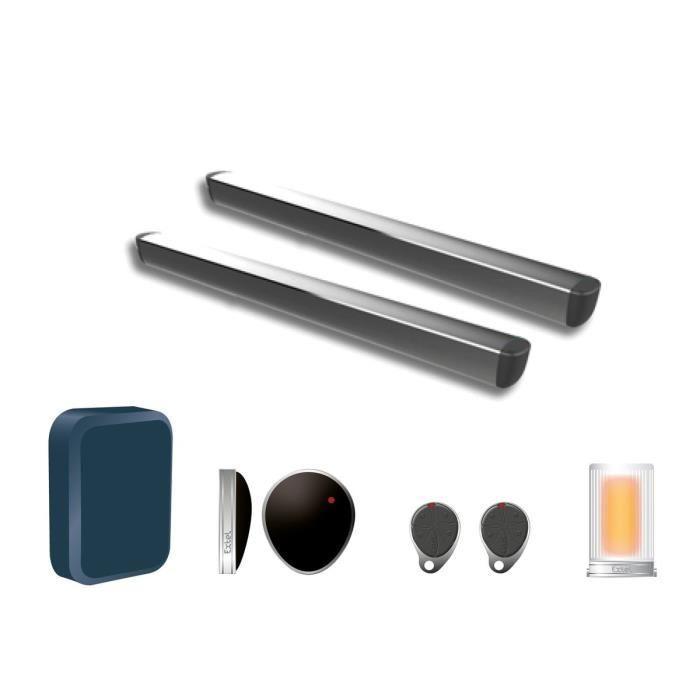 extel kit complet d 39 automatisme de portail a v rins 2 vantaux riesco 265811. Black Bedroom Furniture Sets. Home Design Ideas