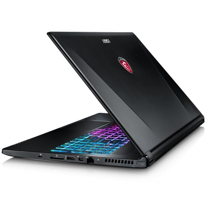 msi pc portable gamer gs60 6qe 298xfr 15 6 full hd. Black Bedroom Furniture Sets. Home Design Ideas