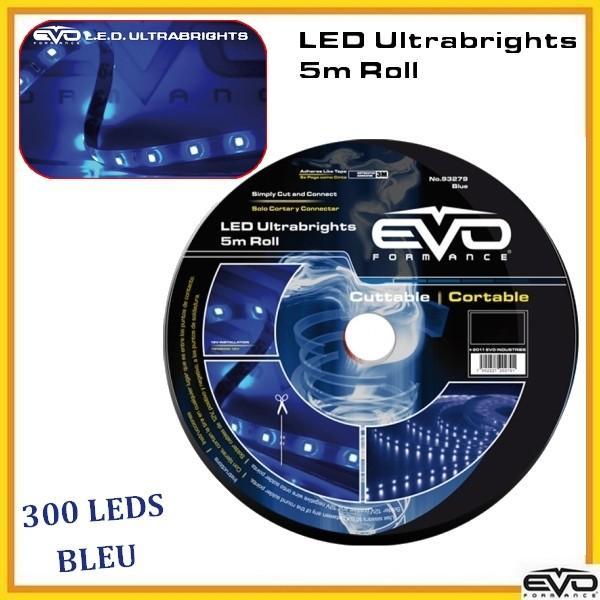 neon voiture flexible adnautomid rouleau led 5m bleu. Black Bedroom Furniture Sets. Home Design Ideas