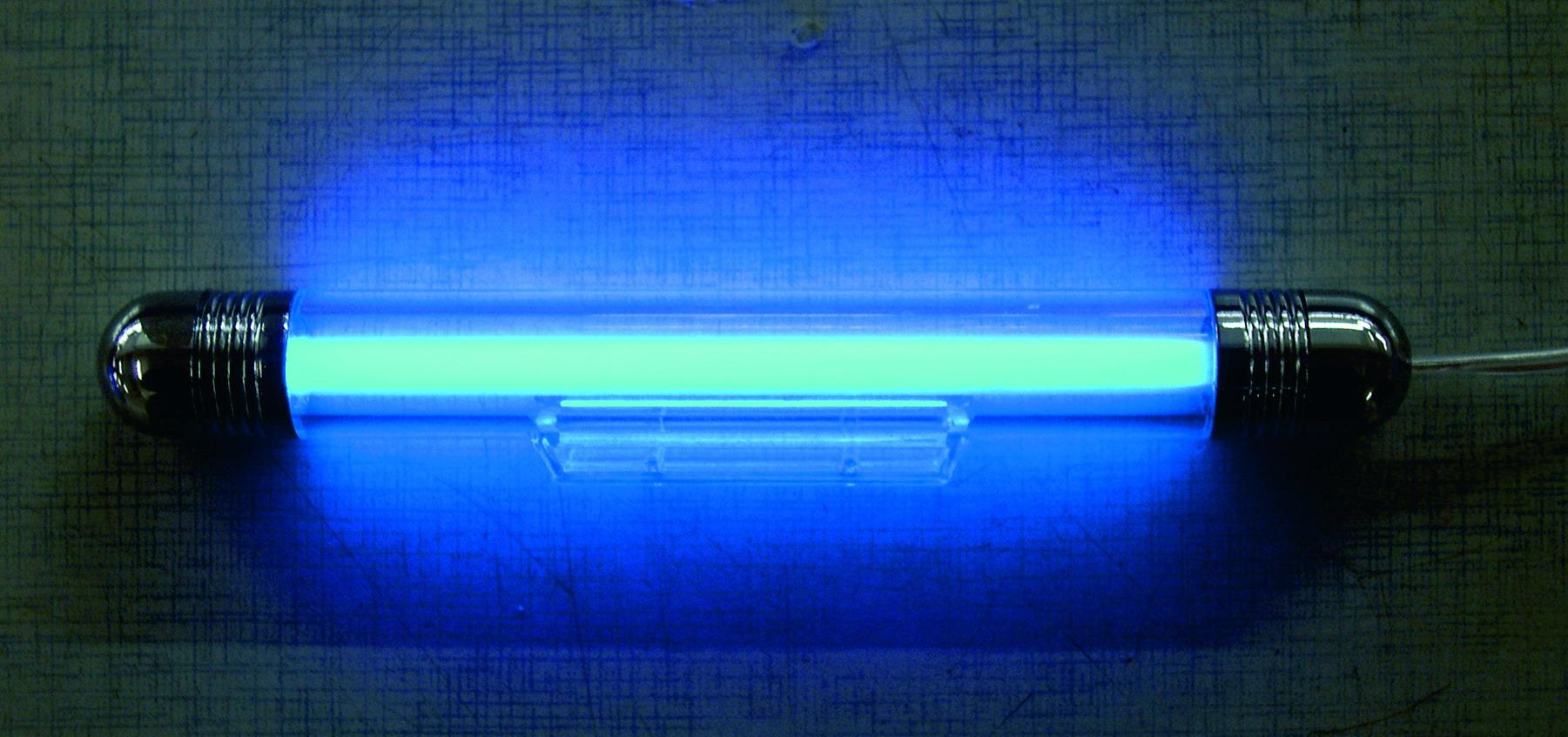 adnautomid neon tube 21cm bleu bc corona 5641. Black Bedroom Furniture Sets. Home Design Ideas