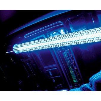 tube neon effet verre brise 30cm bleu promo adn. Black Bedroom Furniture Sets. Home Design Ideas