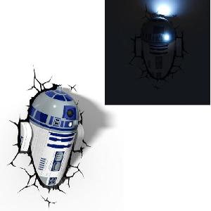 philips star wars lampe decorative 3d r2d2 287880. Black Bedroom Furniture Sets. Home Design Ideas
