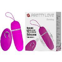 Oeufs Vibrants Baile - Oeuf Telecommande Pretty Love 9.1 cm - Violet