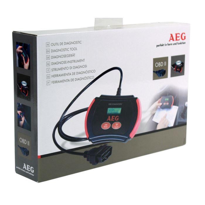 aeg aeg scanner valise diagnostic obd2 248984. Black Bedroom Furniture Sets. Home Design Ideas