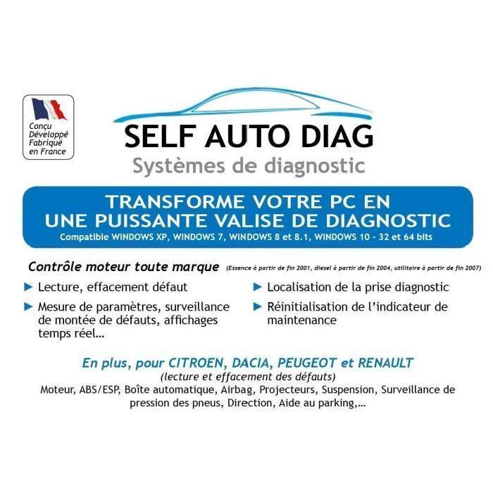 aeg scanner valise diagnostic obd2 248984. Black Bedroom Furniture Sets. Home Design Ideas