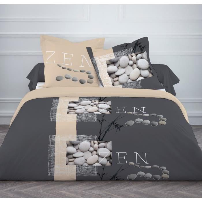 finlandek parure de couette kaija 100 coton 1 housse de couette 140x200 cm 1 taie d. Black Bedroom Furniture Sets. Home Design Ideas