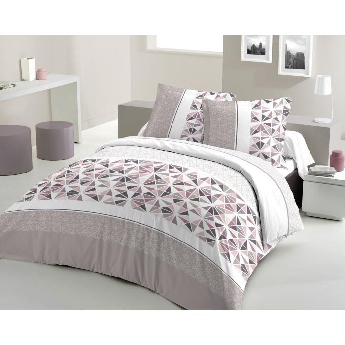 david olivier david olivier housse couette 240x260 percale beige 249591. Black Bedroom Furniture Sets. Home Design Ideas