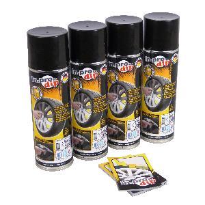 Peintures, Laques & Plastidip ADNAutoMID - InproDip Vert - Film pour jantes - box pour 4 Jantes - 4x300ml - similaire PlastiDip