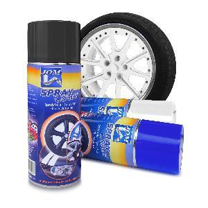Peintures, Laques & Plastidip ADNAutoMID - Spray film a vaporiser 400ml - Blanc - similaire PlastiDip