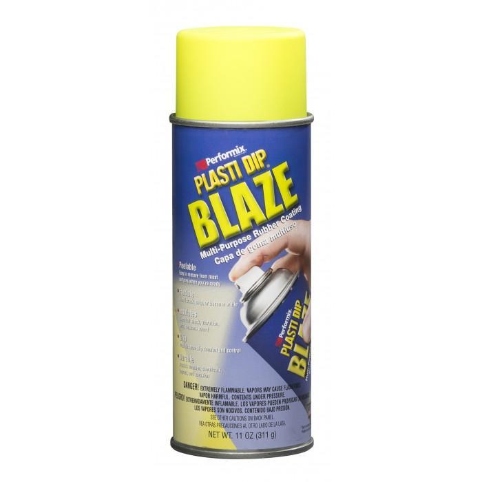 Peintures laques plastidip plasti dip plastidip blaz jaune 208248 for Peinture jaune fluo