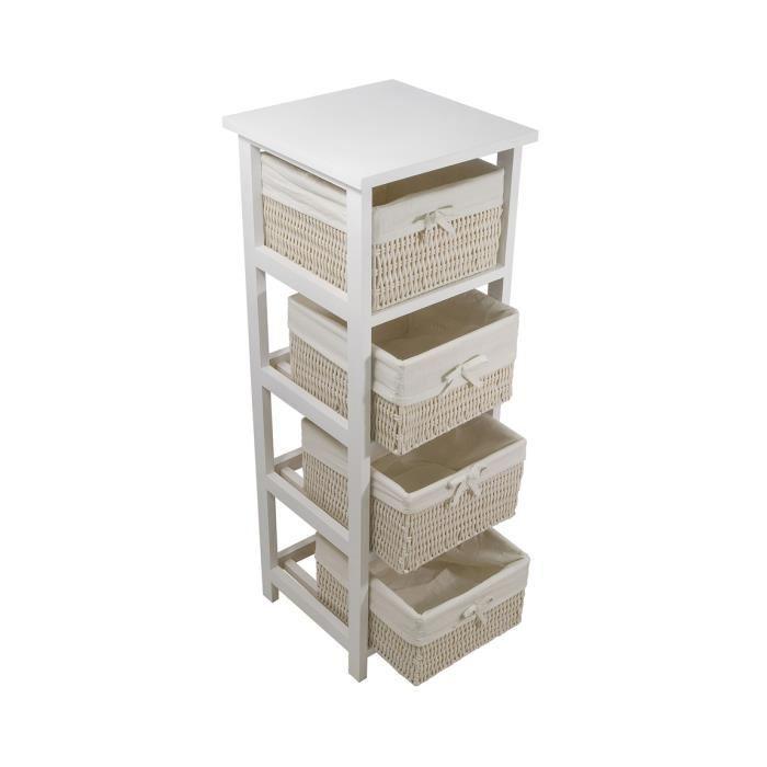 Petit meuble de rangement mid plateforme de distribution for Petit meuble blanc a tiroir