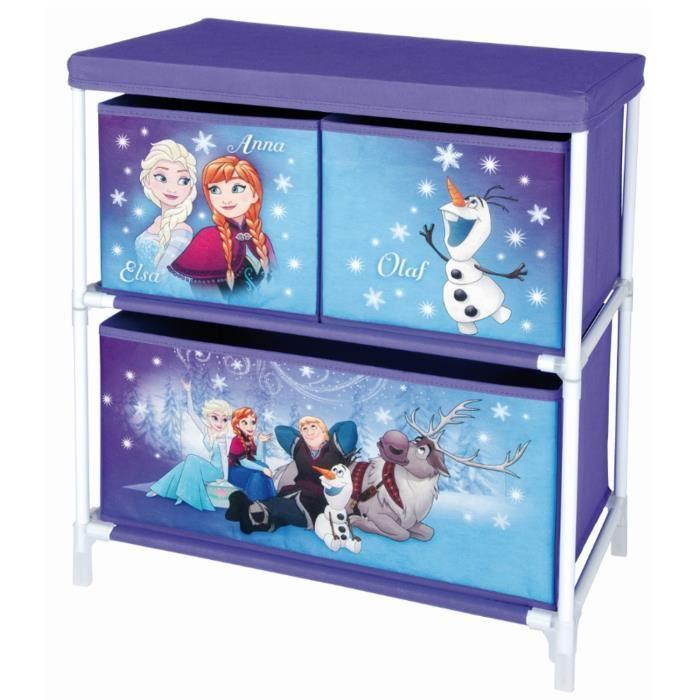 aucune la reine des neiges meuble de rangement 400291. Black Bedroom Furniture Sets. Home Design Ideas