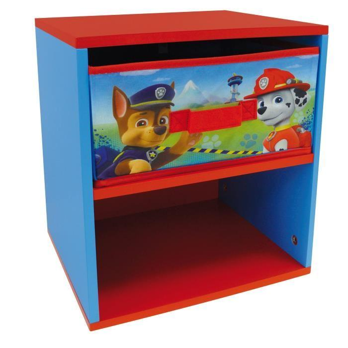 Fun house pat 39 patrouille table de chevet 394584 for Petit meuble casier
