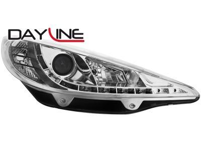 phare voiture peugeot adnautomid 207 ap06 daylin chro 120094. Black Bedroom Furniture Sets. Home Design Ideas