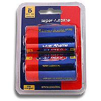 Piles pour sextoys Caliber - 2 Piles 1.5V LR20 Super Alkaline - 10000mAh