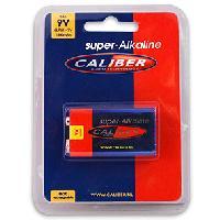 Piles pour sextoys Caliber - Pile 9V Super Alkaline - 1800mAh - 6LR61