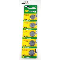 Piles pour sextoys Gp Batteries - 5 Piles 3V CR2025 Lithium