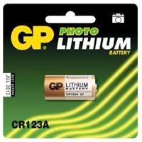Piles pour sextoys Gp Batteries - Pile Lithium CR123A - 3 Volts